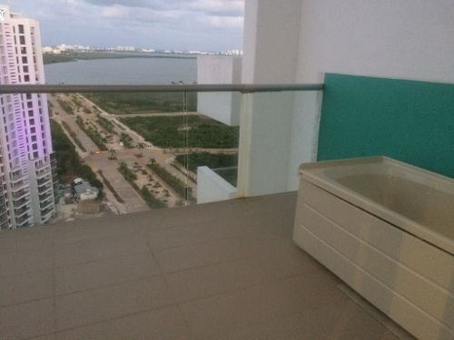 venta departamento de 2 rec en malecon cancun p2431