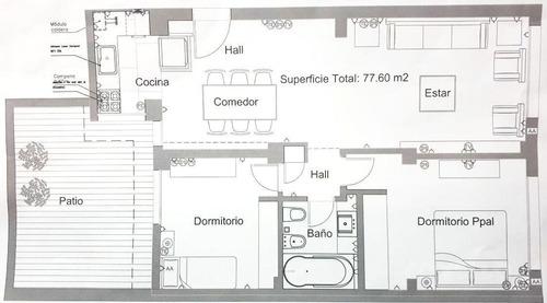 venta departamento de 3 ambientes