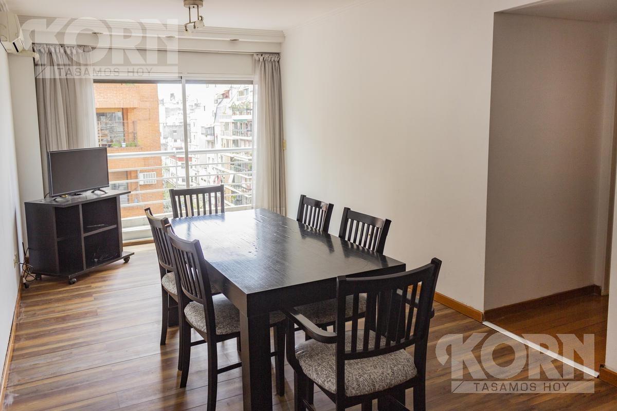 venta departamento de 3 ambientes al frente en barrio norte / recoleta