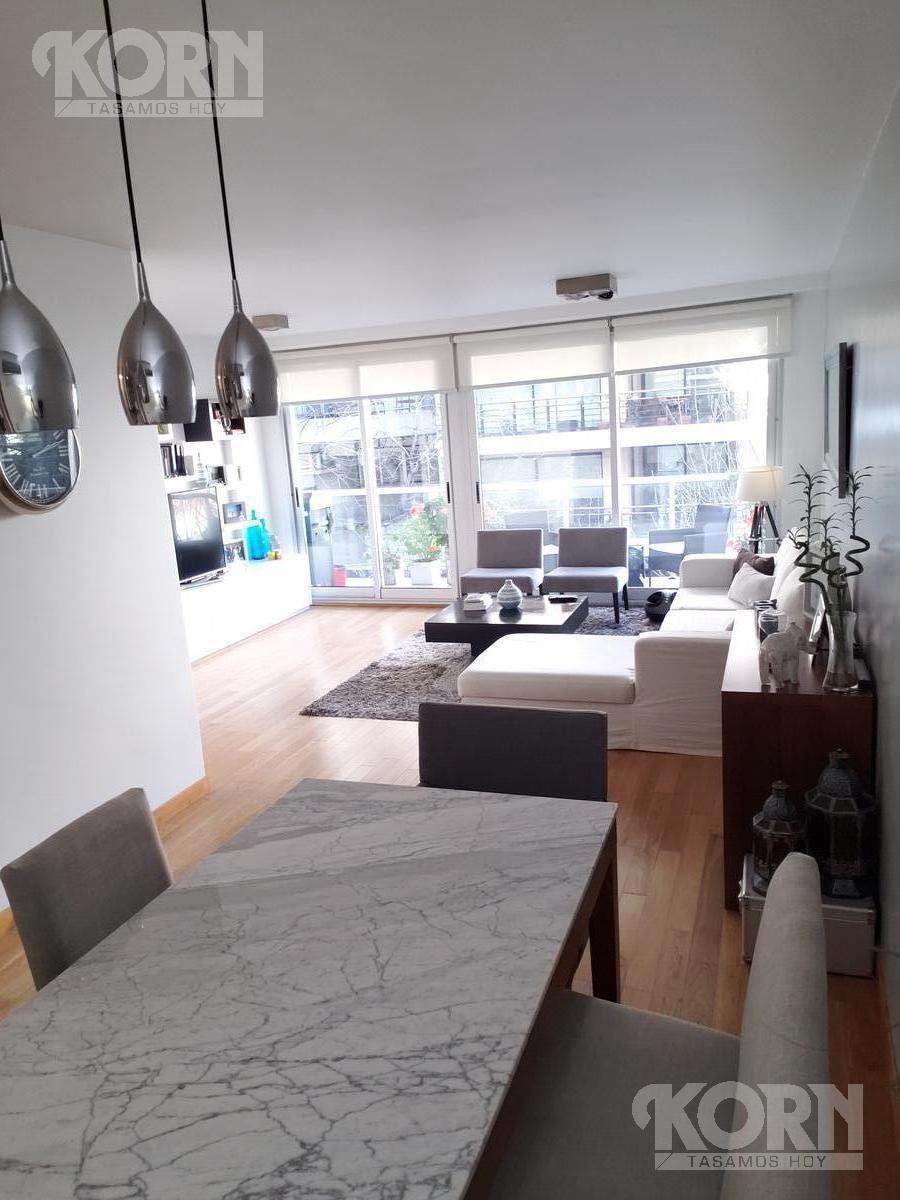 venta departamento de 3 ambientes con cochera y baulera en las cañitas