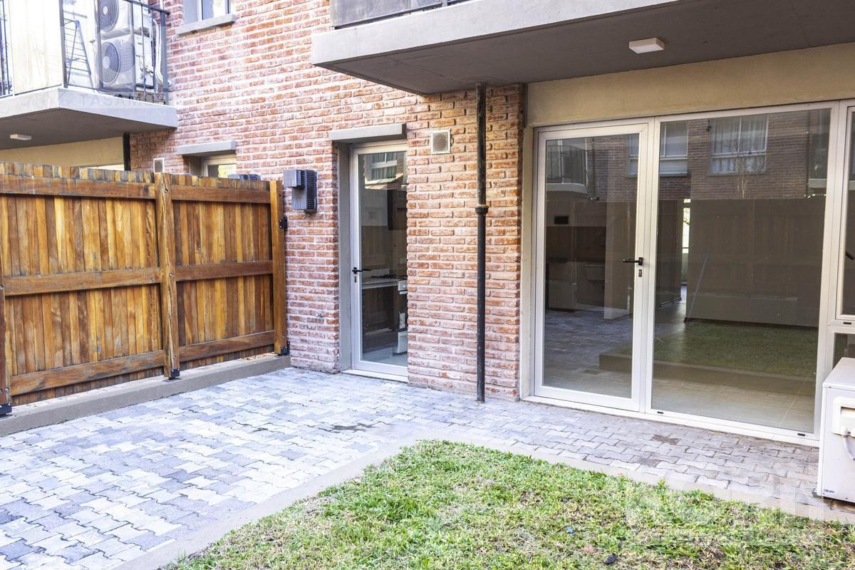 venta departamento de 3 ambientes con patio - a estrenar en villa urquiza