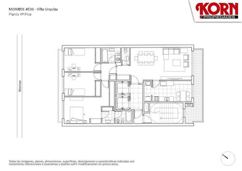 venta departamento de 3 ambientes en construccion