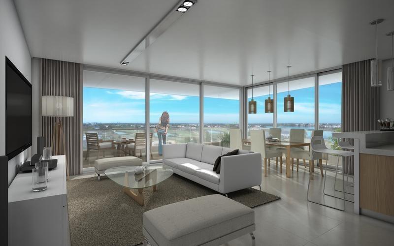 venta departamento de 3 ambientes planta baja con jardín en av. del  el golf