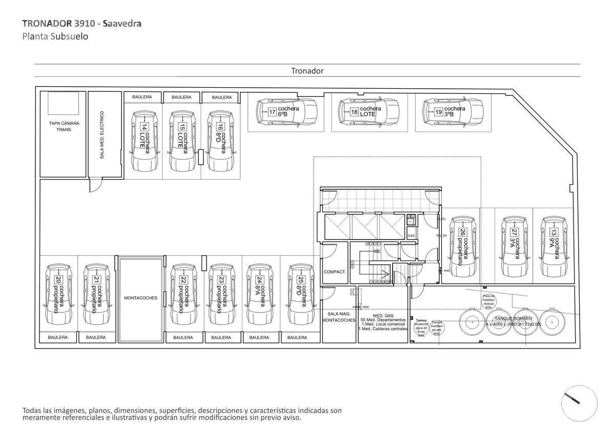 venta departamento de 4 ambientes en construcción en saavedra