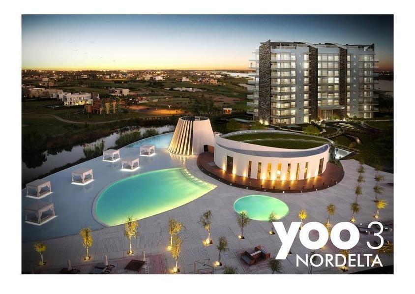 venta departamento  de cuatro ambientes con dos cocheras en yoo 3 nordelta