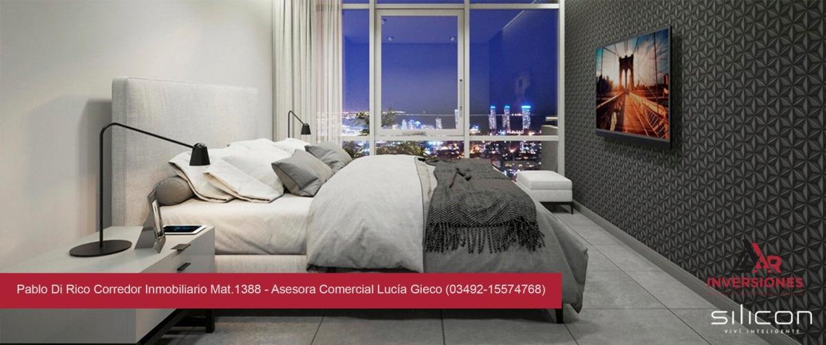 venta departamento de dos dormitorios en rosario - edifico 100% inteligente!! - amenities - excelente ubicación - rosario