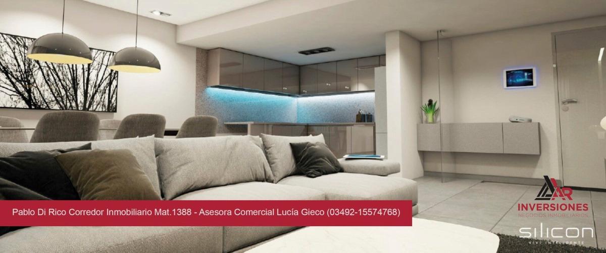 venta departamento de dos dormitorios en rosario - edifico 100% inteligente!! excelente ubicación - financiación!!