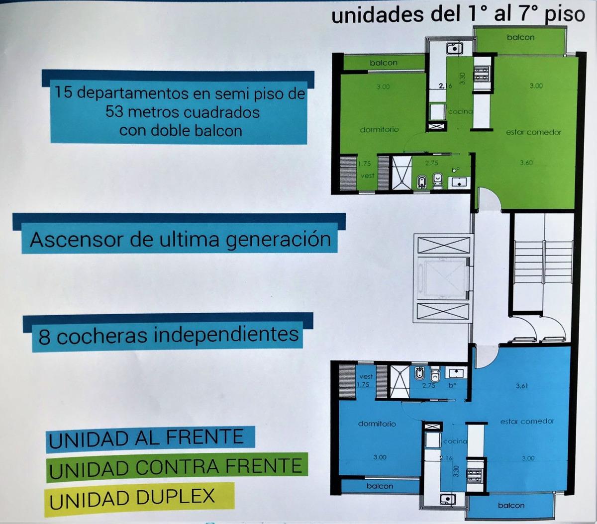 venta departamento de pozo 2 ambientes al frente anticipo y cuotas san miguel