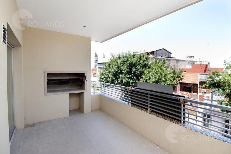 venta departamento dos ambientes balcón y parrilla a estrenar en parque chacabuco
