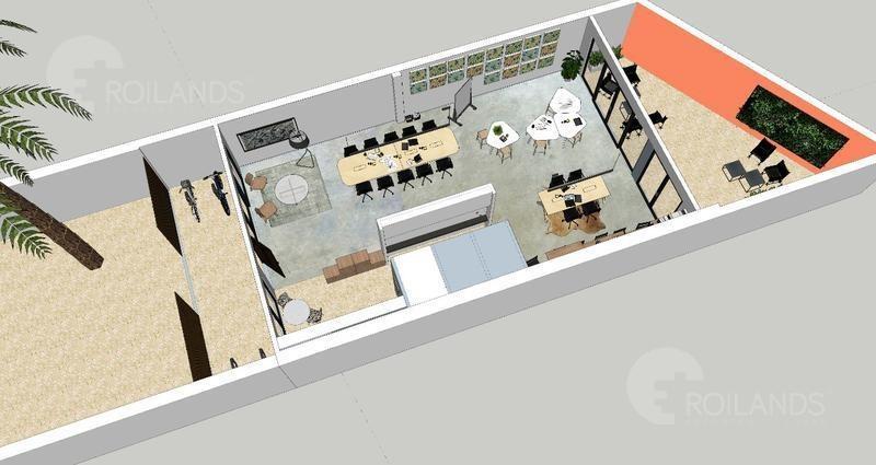 venta departamento emprendimiento 2 ambientes con patio y parrilla palermo