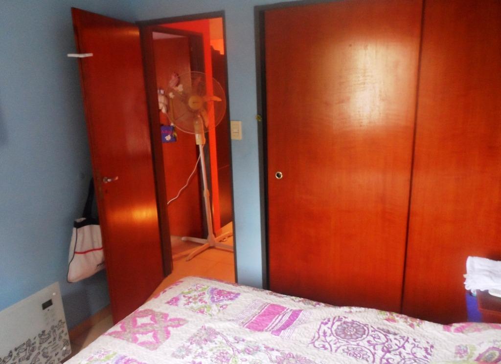 venta departamento en 2º piso x escalera en villa sarmiento de 3 amb. c/cochera