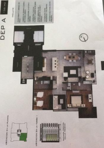 venta departamento  en col. chapultepec , tijuana b.c.  nivel diez