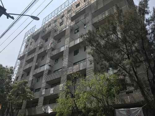venta departamento para estrenar en colonia moderna con roof garden privado