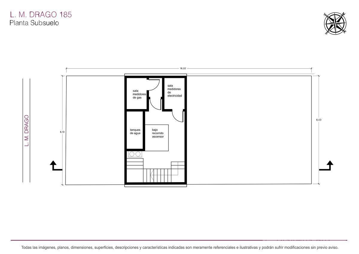 venta departamento / semipiso de 2 ambientes proximo a estrenar en villa crespo