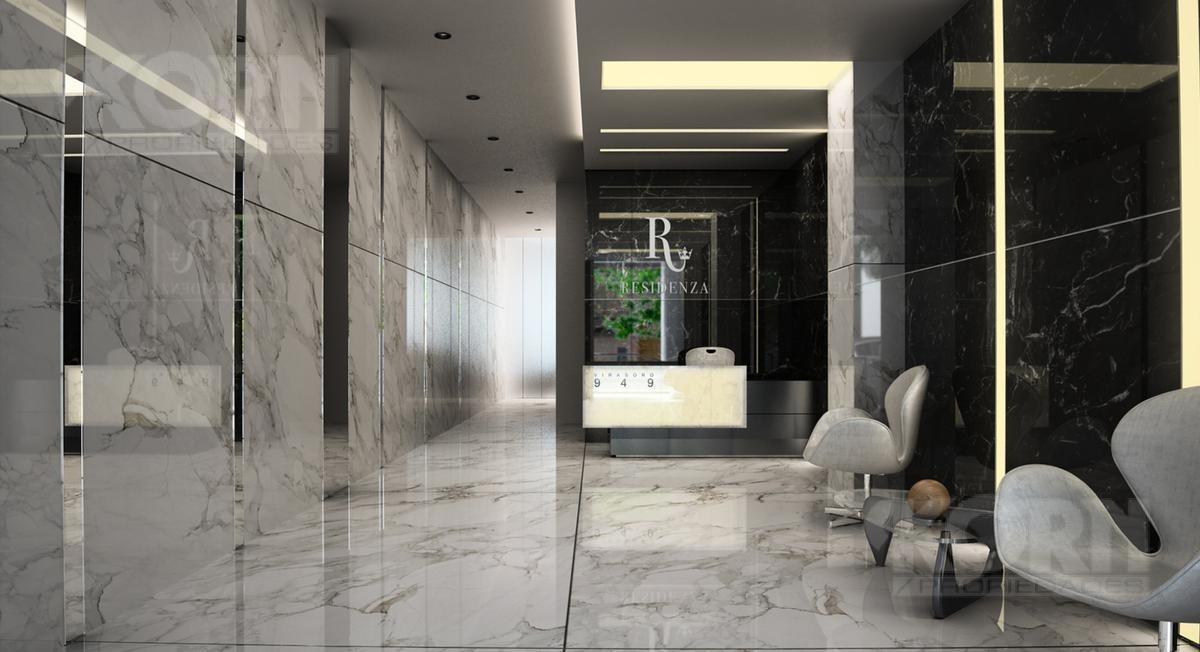 venta departamento semipiso de 3 ambientes con balcon aterrazado en caballito - en pozo