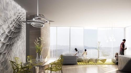 venta departamentos exclusivo proyecto arquitectónico bora, santa fe