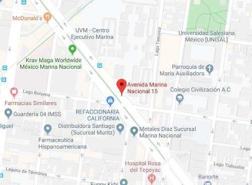 venta departemanto marina nacional 15 anahuac