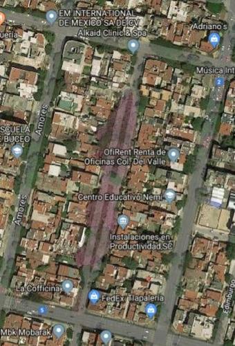 venta depto. colonia del valle centro benito juarez