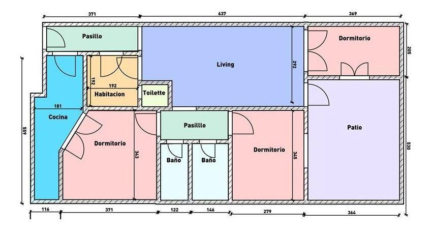 venta depto.4 ambientes c/dep y patio alto palermo