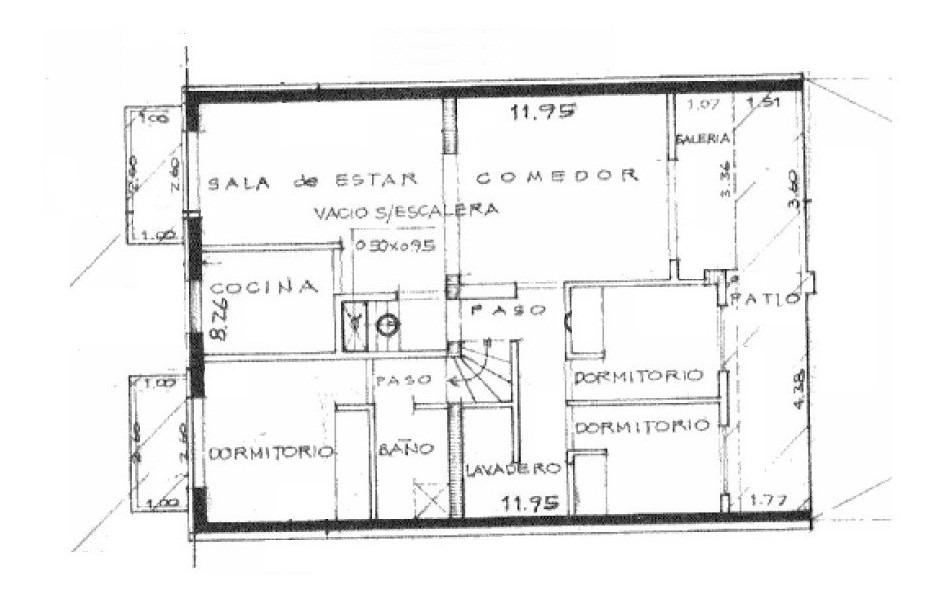 venta dos casas (pb y pa) - sucre 1000