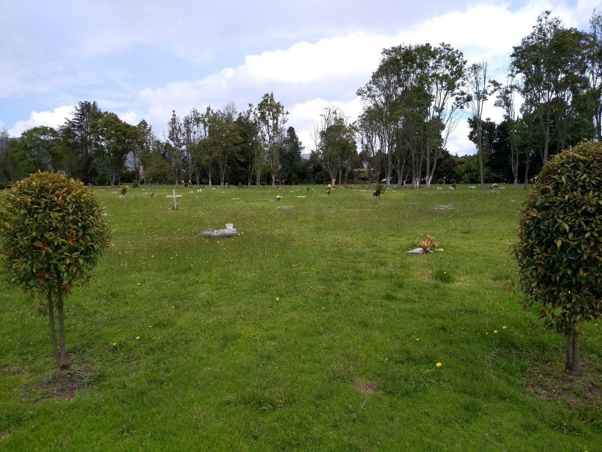 venta dos lotes triples cementerio la inmaculada