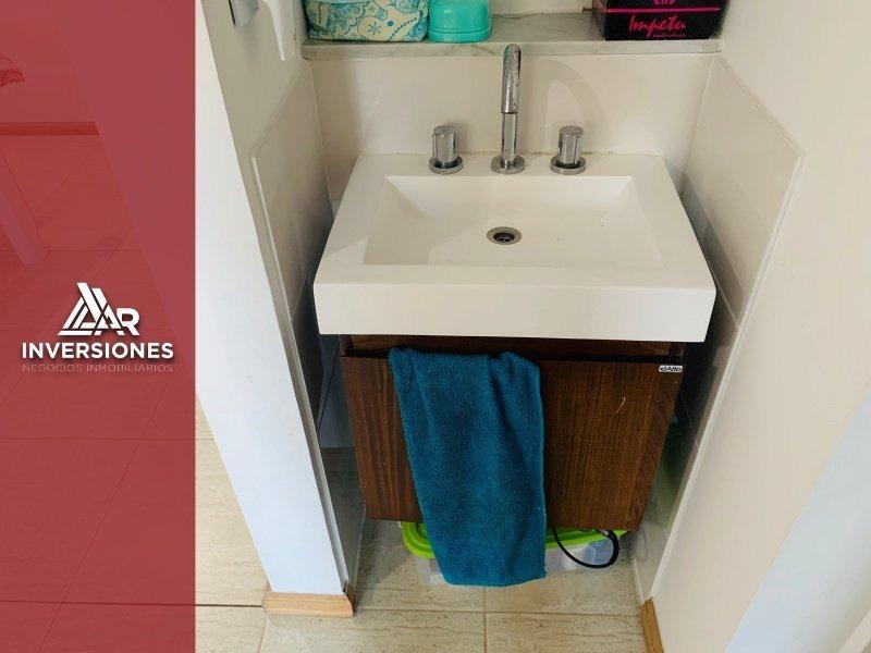 venta - dpto 1 dormitorio - excelente distribucion - cochabamba 1300 - inversion