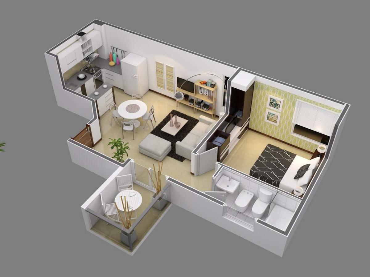 venta - dpto 1 dormitorio - quara - alberdi