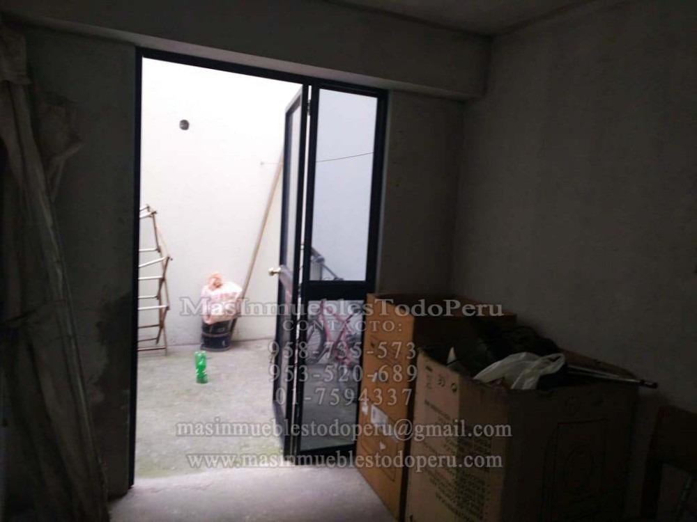venta dpto 1er piso surco vista a la calle (sin acabados)