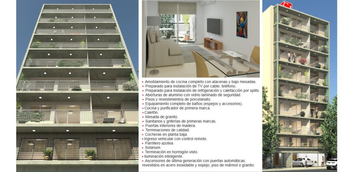 venta dpto de 1 dormitorio- entrega octubre 2020 - barrio martin - rosario - montevideo 324