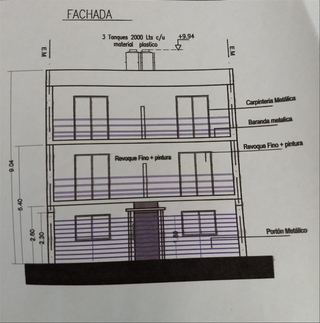 venta dto. 2 ambientes villa luzuriaga vestidor y fondo a/e