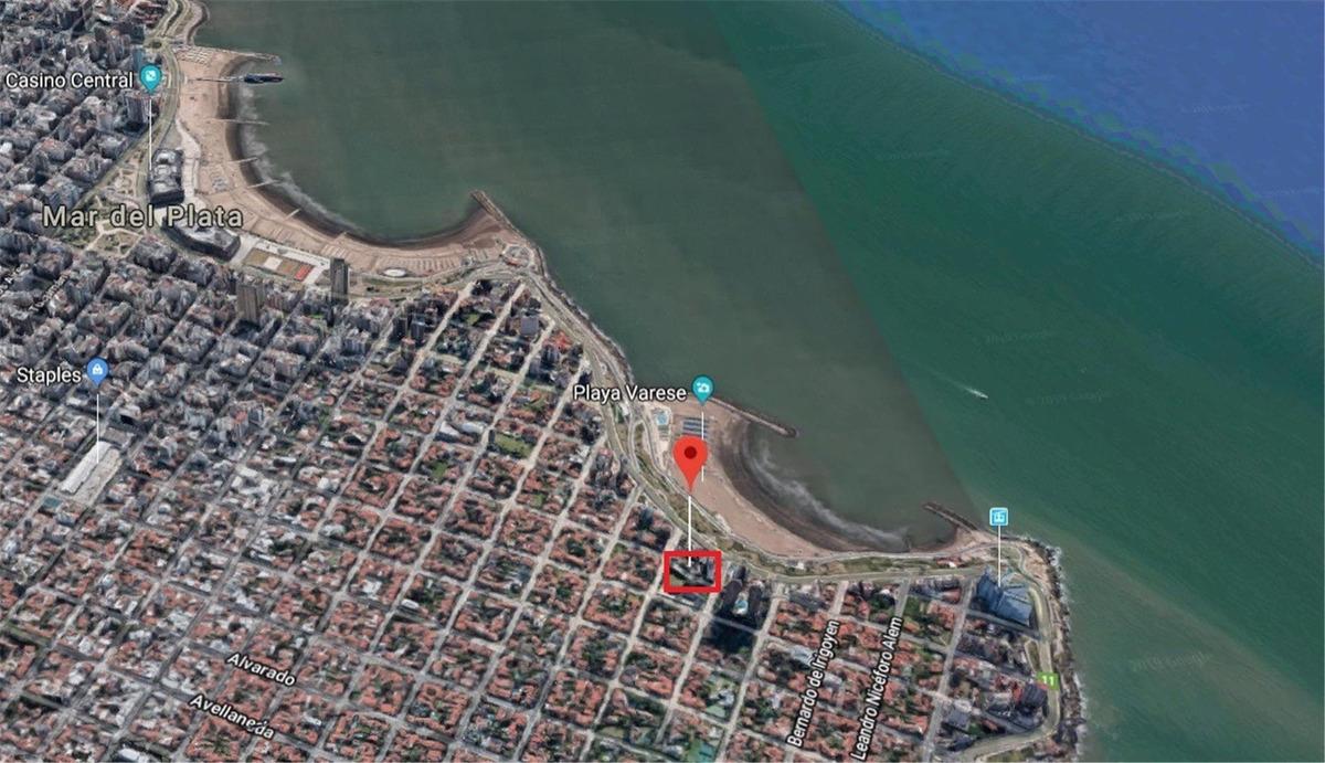 venta dto 3 amb mar del plata balcon playa varese