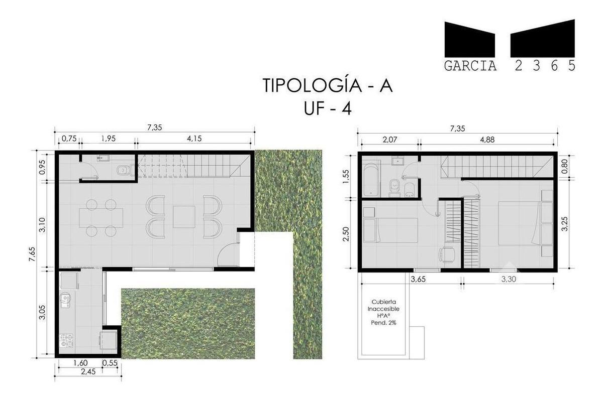 venta duplex 3 ambientes! castelar norte