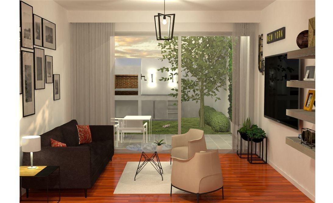 venta duplex 4 amb garage parrilla, jardín permuta