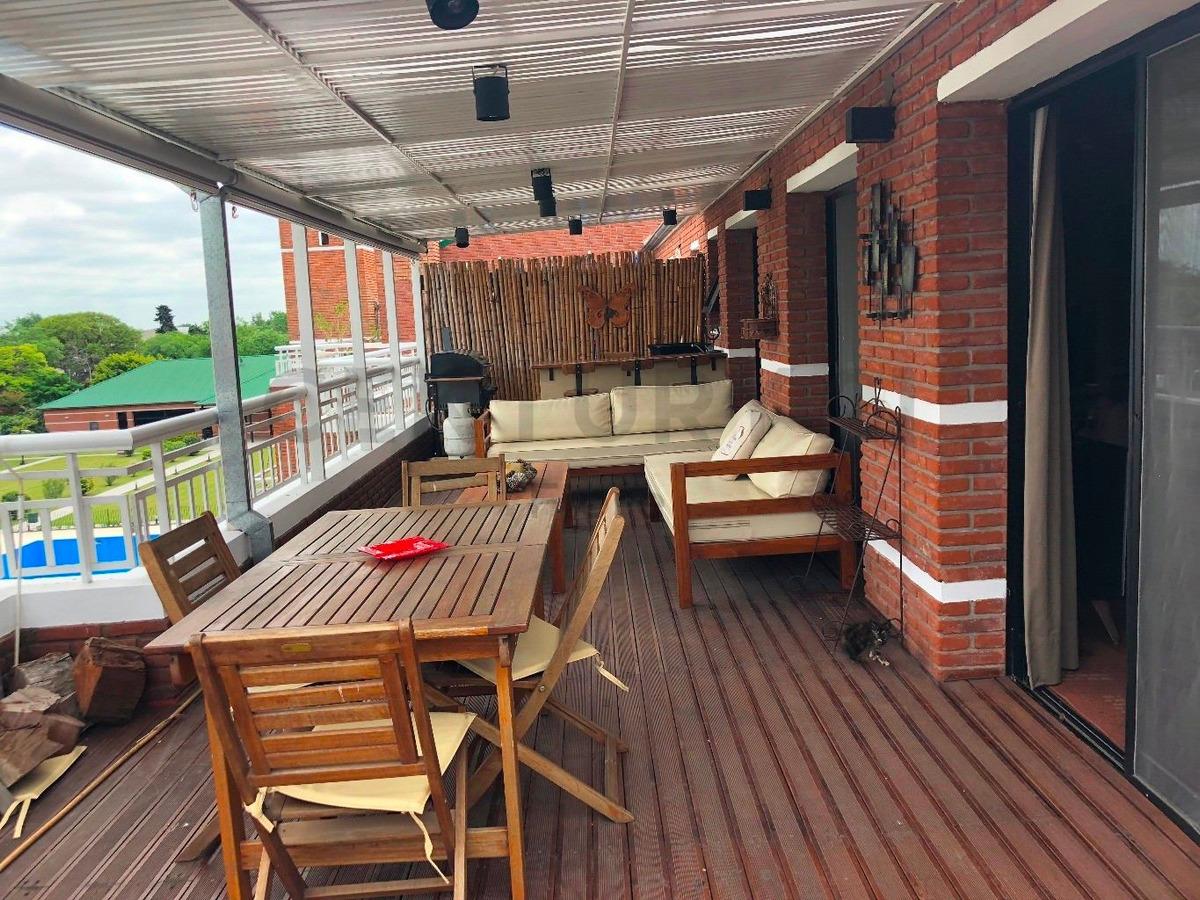 venta duplex 4 ambientes en complejo el solar, san isidro