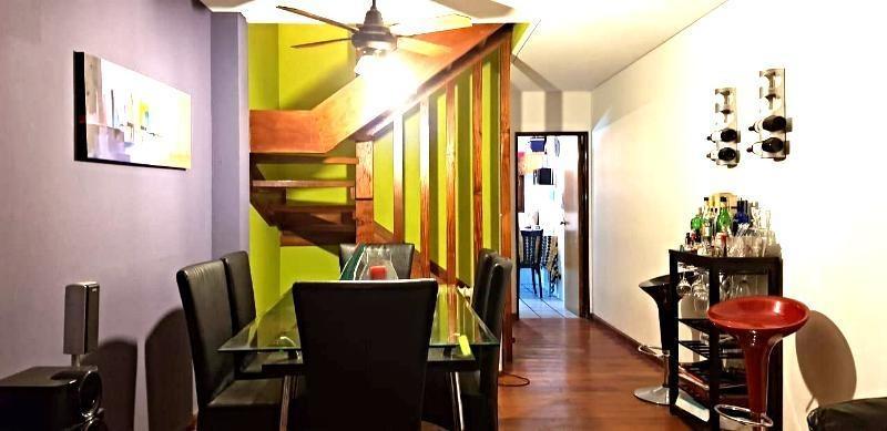 venta duplex de 3 plantas y 4 ambs en olivos