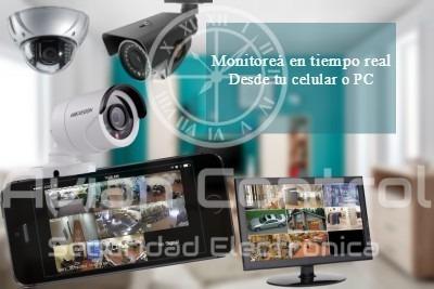 venta e instalación de camaras, alarmas, control de acceso