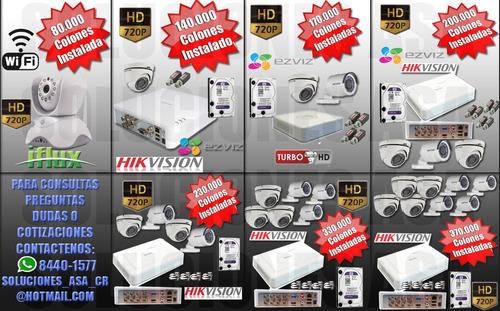 venta e instalacion de camaras de seguridad y accesorios