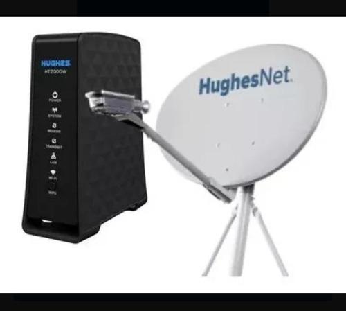 venta e instalación de internet satelital huguisnet