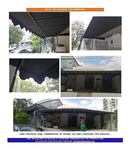 venta e instalación de lonas y toldos a domicilio en guadala