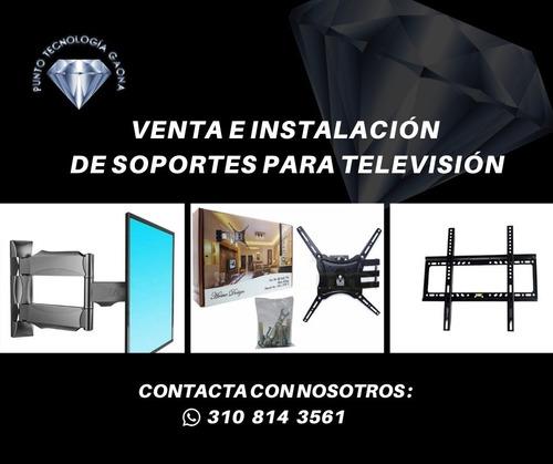 venta e instalación de soportes para televisores