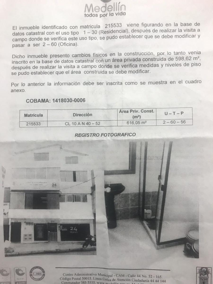 venta edificio medellin, el poblado