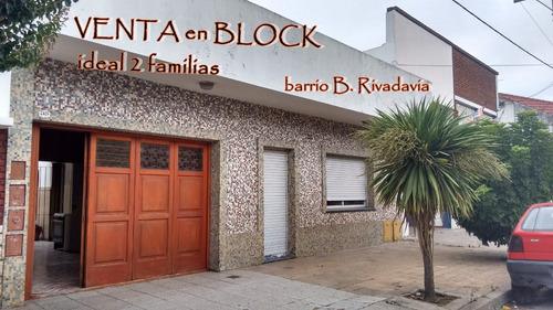 venta en block casa + depto + local