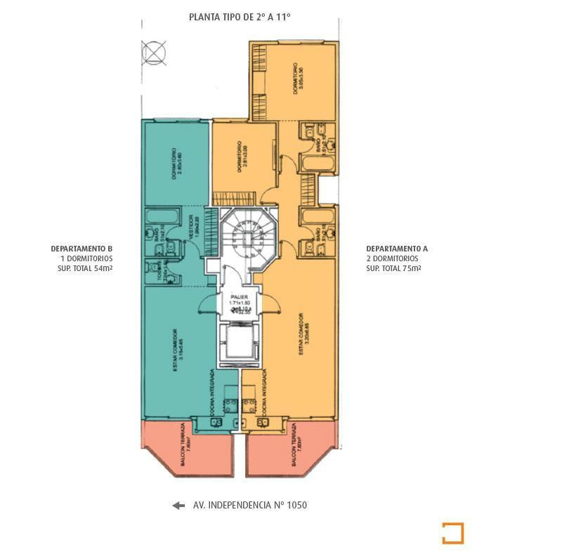 venta en pozo semipisos 2 y 3 ambientes