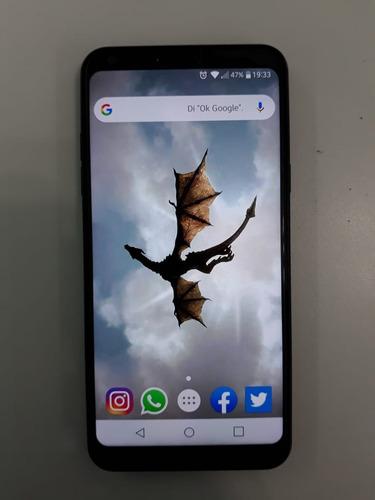 venta equipo celular lg q6 negro libre liberado meses de uso