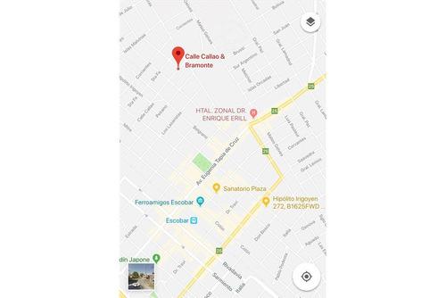 venta escobar ph 2 ambientes al frente