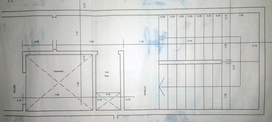 venta - estructura en venta en 43e/25 y 26