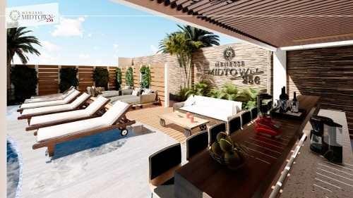venta estudios menesse midtown playa del carmen amueblado