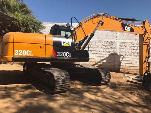 venta excavador caterpillar con kit hidráulico, 320 cl, 2004