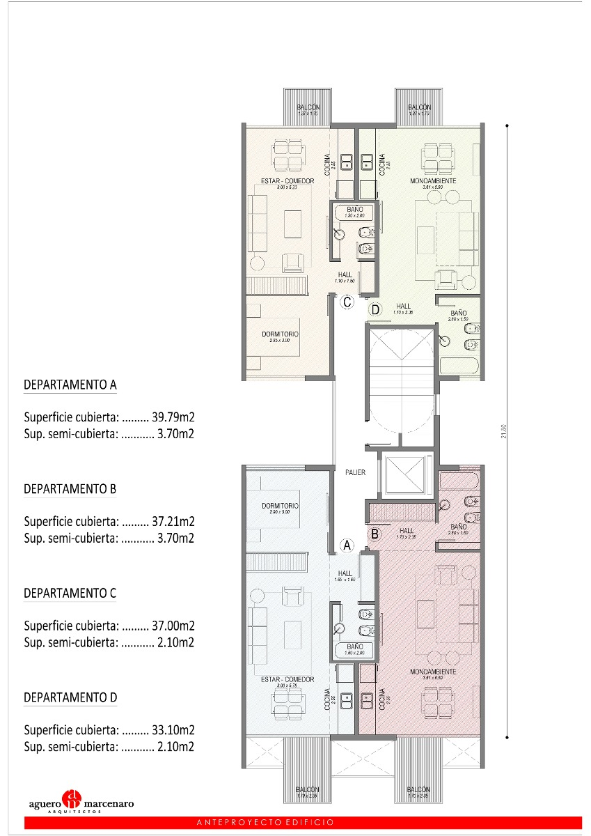 venta excelente 2 ambientes 40m2 con financiación. la perla