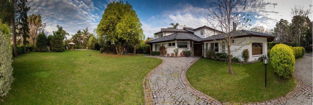 venta excelente casa en country mapuche - pilar -